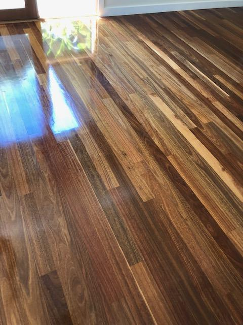 Wood floor clean
